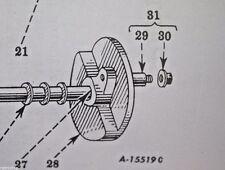 IH Pitman Arm Nut McCormick Sickle Mower Farmall Super A-22 140 100 130 RH Wrist