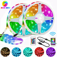5050 LED Strip Lights RGB Bluetooth Phone Remote Control USB 5V Colour Changing