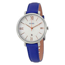 Fossil Jacqueline White Dial Ladies Watch ES3986