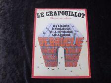 LE CRAPOUILLOT n° 55 ETE 1980 LES AFFAIRES SCANDALEUSES REPUBLIQUE GISCARDIENNE