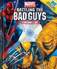 Marvel Heroes Battling the Bad Guys Book and DVD