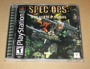 Spec Ops: Stealth Patrol for Playstation PS1 Complete Fast Shipping!