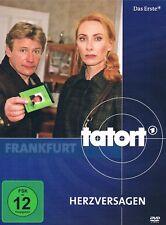 DVD TATORT FRANKFURT HERZVERSAGEN Andrea Sawatzki Jörg Schüttauf Sänger/Dellwo