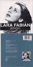 CD CARTONNE CARDSLEEVE LARA FABIAN ADAGIO 2T NEUF SCELLE