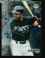 BARRY BONDS 1999 UPPER DECK BLACK DIAMOND BASEBALL  CARD!!