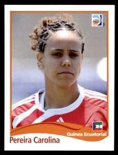 Panini Women's World Cup 2011 - Pereira Carolina Equatorial Guinea No. 316