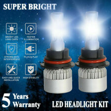 9007 HB5 LED 3000W 450000LM Headlight Conversion Kit White 6000K HI/LO BEAM HID