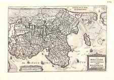 Antique map, La Hollande Septentrionale autrem: West-Frise