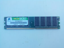 BARRETTE MEMOIRE CORSAIR 1GB DDR 400 VS1GB400C3 OCCASION TESTE (1925)