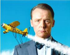 "Simon Pegg - Colour 10""x 8"" Signed 'Tin Tin' Photo - UACC RD223"