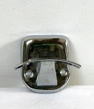 Patère simple métal chromé vintage