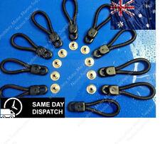 Bungee Loops - 90mm - 10 Pack - Bunji Tonneau Ute Marine Repair Loop