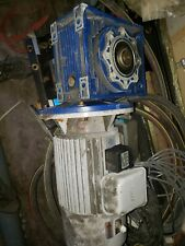 RESIDENTIAL ELEVATOR COMPLETE COUNTER WEIGHT MOTOR BRAKE AND MACHINE 2 ROPE