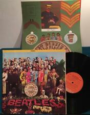 BEATLES SGT PEPPERS LONELY HEARTS CLUB BAND~RARE 1975 CANADA ORANGE LBL~INSERT!
