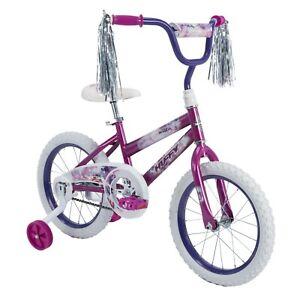 """Huffy Sea Star 16"""" Girls Bicycle, Metallic Purple"""