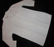 """Best Medical Men L/S Lab Coat 3 Pockets 42"""" Length White Size Large / 44"""
