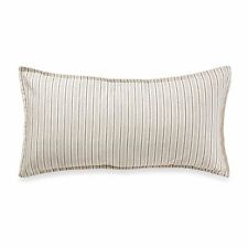 Tommy Bahama Bahamian Breeze Breakfast Pinstripe Decorative Toss Pillow Ivory