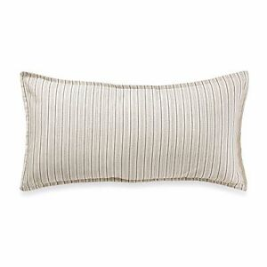 Tommy Bahama Bahamian Breeze Breakfast Pinstripe Decorative Toss Pillow Ivory