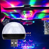 Car Colorful Atmosphere Lights Interior Neon LED USB RGB Music Decor Lamp Light