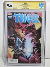 Thor #4 Stegman Variant CGC 9.6 Signed Cates & Stegman White Pages Marvel 5/20