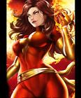 Dark Phoenix #3 Photo Print - Marvel Comics Game Art Figure Statue Figurine