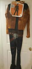 Disney Star Wars Disguise Movie Han Solo Adult Mens Costume Size Large 42 Brown