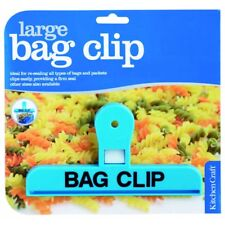 Kitchen Craft Plastic Bag Clip -colours May Vary