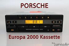 PORSCHE Radio Becker Europe 2000 be1100 cassette Oldtimer Youngtimer autoradio