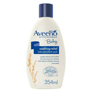 Aveeno Soothing Relief Baby Bagnetto Emolliente 354 ml