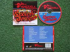 """Latin SEXTETO JUVENTUD """"La Salsa De Venezuela"""" ORIGINAL 2013 CD"""