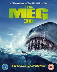 The Meg [Blu-ray] [2018] [DVD][Region 2]