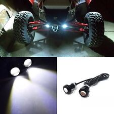 4X Waterproof Clear Inner Fender Wheel Well LED Light For Polaris RZR Ranger