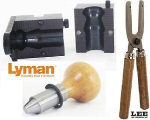 Lyman 1-Cavity  Shotshell Sabot Slug Mold 12 Ga 525 gr with Lee handles 2654112