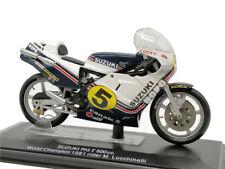 ITALERI 1:22 Motogp Suzuki #5 M.Lucchinelli WC 1981 Diecast Model Bikes