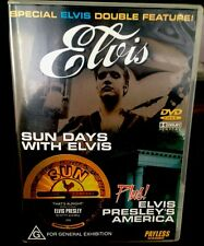Elvis Presley - DVD Classic SUN DAYS WITH ELVIS plus ELVIS PRESLEY'S AMERICA