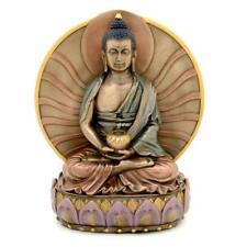 "BUDDHA STATUE 6"" Meditating Amitabha Bronze Resin HIGH QUALITY Buddhist Deity"