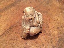 Chinese STEATITE figura di PU Tai