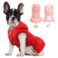 Hundemantel für Kleine Hunde Winter Hundejacke Welpenmantel Chihuahua Kleidung