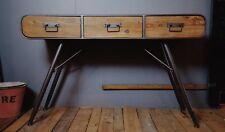Industrial style Rétro Bureau/Coiffeuse/buffet/BUREAU/CONSOLE/3 tiroirs