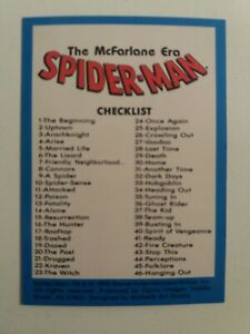 The McFarlane Era SPIDER-MAN #1/90- SERIE COMPLETA- by COMIC IMAGES 1992