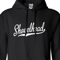 Shovelhead Script & Tail HOODIE - Hooded Motorcycle Biker Sweatshirt All Colors