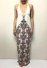 Tigerlily Stretch Ethnic Insp Print Sleeveless Maxi Dress RR Sz 6