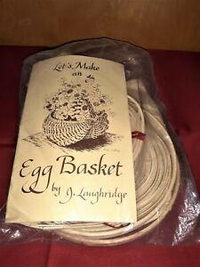 "ACP Let's Make an Egg Basket Kit by J Laughridge  8""t"
