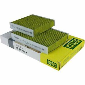 Mann-filter Cabin Air Filter FP21000-2 fits Citroen DS3 DS3 1.4 VTi 95