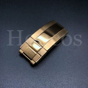 16MM OYSTER WATCH BAND CLASP FOR ROLEX DATEJUST SUBMARINER GMT DAYTONA STRAP