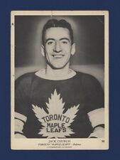 1939-40 O-Pee-Chee V301-1 Jack Church #52 Toronto Maple Leafs (5 X 7) Card!