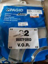 Pagid Rear Left / Right Handbrake Cable - Fits Peugeot 207 (WA, WC) 2006-Onwards
