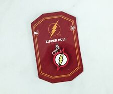 Dc Comics The Flash collection  THE FLASH ZIPPER PULL NEW SOLD OUT!