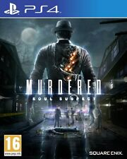 Murdered Soul Suspect Ps4 Playstation 4 Square Enix