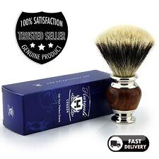 Mejor Brocha De Afeitar Para Hombre Badger Cabello Plata Punta, Clásico Vintage Style Barber